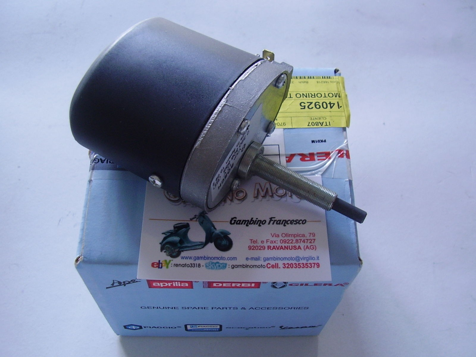 MOTORINO TERGICRISTALLO PIAGGIO APE MP 501 601