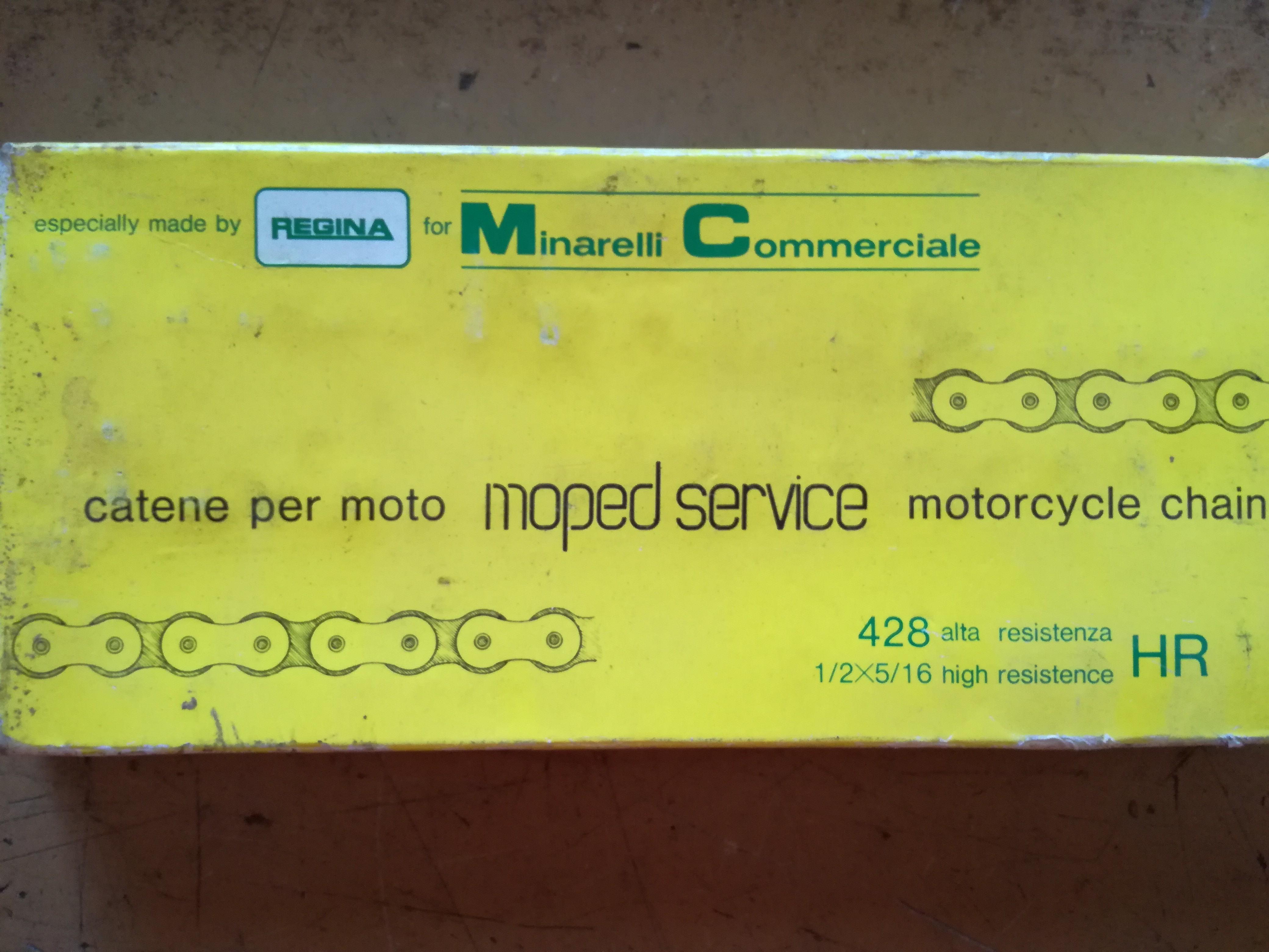 CATENA REGINA 428 RH 140 MAGLIE PER MOTO CROSS SUPER MOTARD ENDURO NUOVO