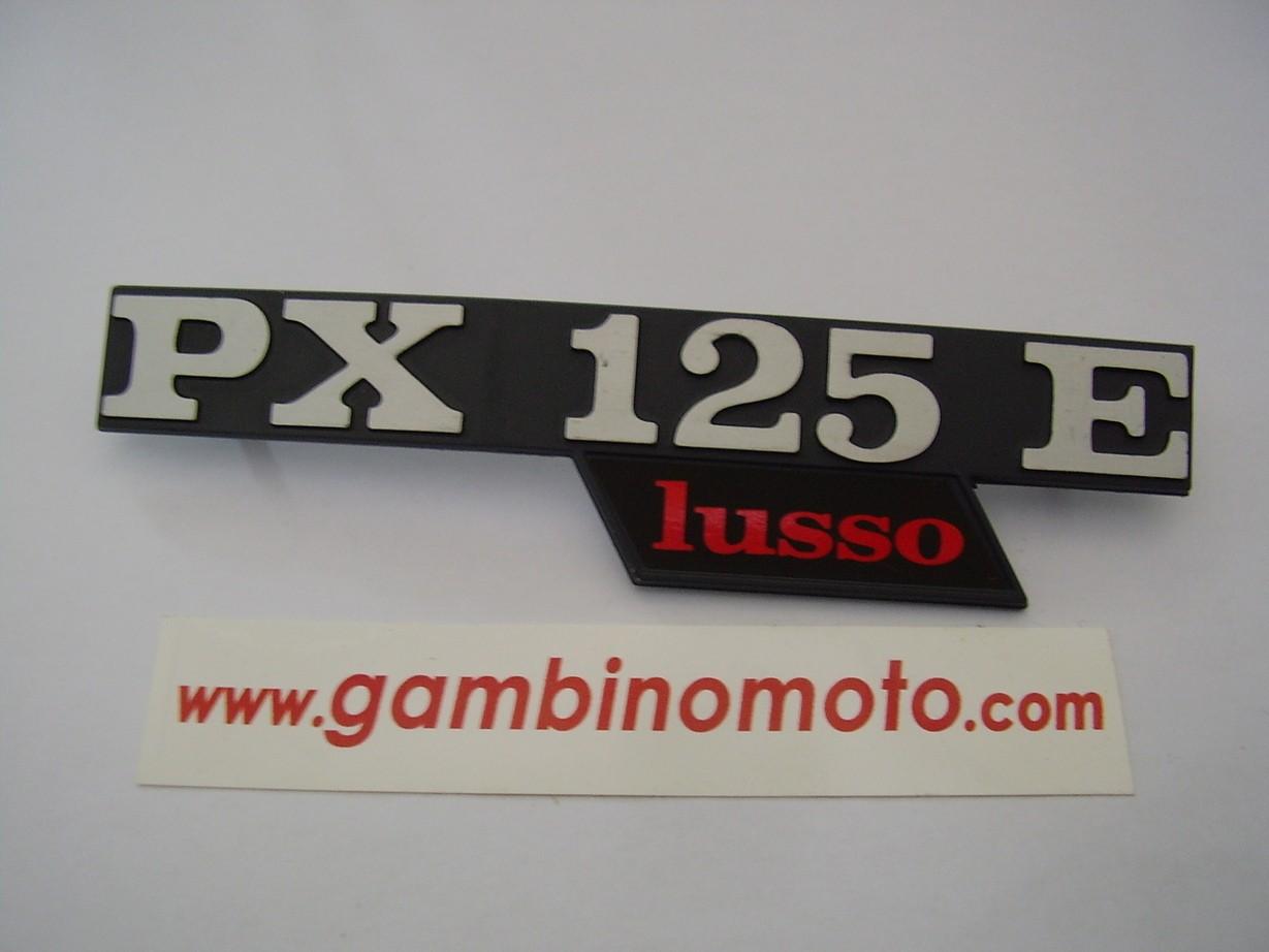 TARGHETTA COFANO LATERALE VESPA PX125E LUSSO