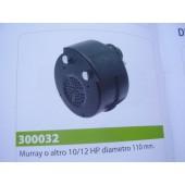 MARMITTA MURRAY O ALTRO 10/12 HP PICC DIAMETRO 110 mm