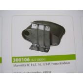 Marmitta MOTORE BRIGGS & STRATTON TC 15,5, 16, 17 HP monocilindrico