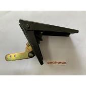 PEDALE ACCELERATORE, FRENO, FRIZIONE (MODELLO AVANTI) CARATTERISTICHE ARTICOLO: A mm82.0 B mm43.0 C mm190.0 D mm140.0 E mm116.0 G mm44.0 H mm7.0 N mm83.0 Tiro max300 N