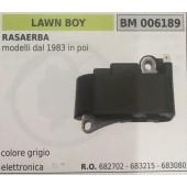 BOBINA BRUMAR ELETTRONICA LAWN BOY RASAERBA modelli dal 1983 in poi  colore grigio
