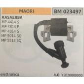 BOBINA BRUMAR ELETTRONICA MAORI RASAERBA MP 4414 S MP 4814 P MP 4814 S MP 5014 SQ MP 5518 SQ