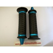 MANOPOLE SCOOTER/MOTO/NERE CON FINITURE BLU