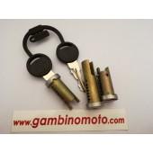 kit Serratura serrature PIAGGIO VESPA 50 N - V - HP - PK- FL2 - Kit 3