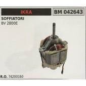 MOTORE ELETTRICO BRUMAR IKRA SOFFIATORI BV 2800E
