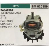 MOTORE ELETTRICO BRUMAR MTD RASAERBA 40E (1300W) (2003) E 45 EL 18 Flair 1300EL Golf 1500E Family E45-1500