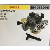 CARBURATORE A VASCHETTA BRUMAR DUCAR MOTOPOMPE DP 50 DP 80 DPT 80