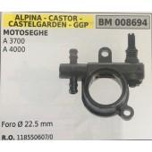 POMPA OLIO BRUMAR ALPINA - CASTOR -CASTELGARDEN - GGP MOTOSEGHE A 3700 A 4000    Foro Ø 22.5 mm