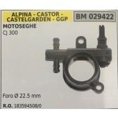 POMPA OLIO BRUMAR ALPINA - CASTOR -CASTELGARDEN - GGP MOTOSEGHE CJ 300    Foro Ø 22.5 mm