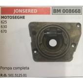 POMPA OLIO BRUMAR JONSERED MOTOSEGHE 625 630 670   pompa completa