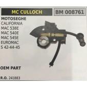 POMPA OLIO BRUMAR MC CULLOCH MOTOSEGHE CALIFORNIA MAC 538E MAC 540E MAC 545E EUROMAC S 42-44-45   OEM PART