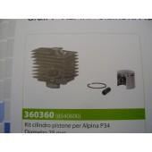 CILINDRO COMPLETO PER ALPINA P34 DIAMETRO 38MM
