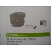 CILINDRO COMPLETO PER ALPINA 52 DIAMETRO 45MM