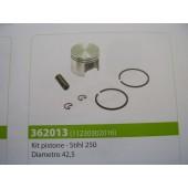 PISTONE STIHL 250 DIAMETRO 42,5 MM