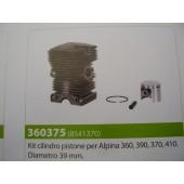 CILINDRO COMPLETO PER ALPINA 360-390-370-410 DIAMETRO 39MM