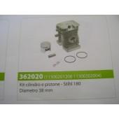 CILINDRO PISTONE STIHL 1800 DIAMETRO 38 MM