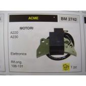 BOBINA  ACCENSIONE MOTORI ACME A220 - A230 ACCENSIONE ELETTRONICA rif.orig 106-131