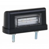 Luce targa a 2 led 10-30 V, 83x30,5x40 mm, 0,5m cablaggio 2X0,75 mm