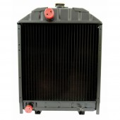 Radiatore in alluminio per trattore adattabile al riferimento originale Fiat 5143883.